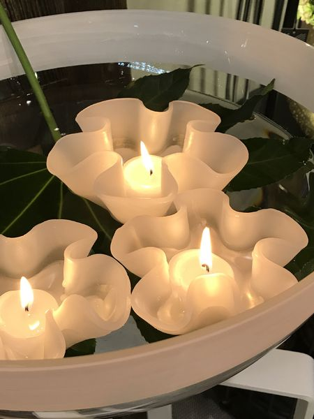 Floating Flower Candle Floating Candles Nordic House