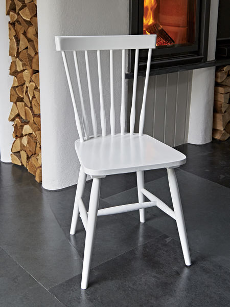 White Dining Chair Swedish Dining Chair White Nordic