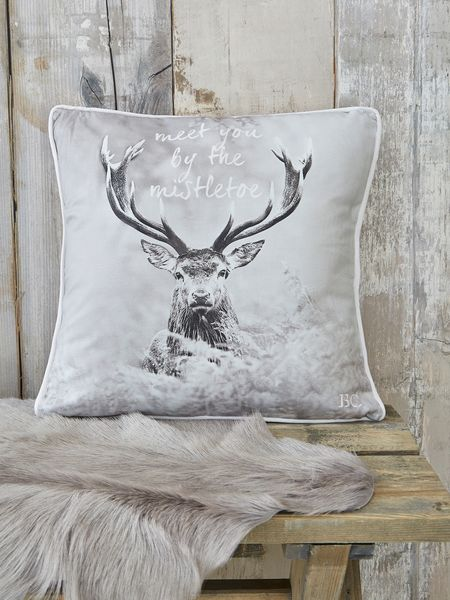 Nordic Deer Cushion Nordic Cushions Deer Cushion