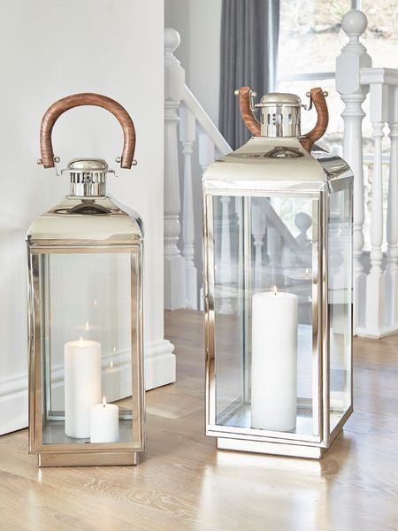 Elite Stainless Steel Lanterns Large Stainless Lanterns