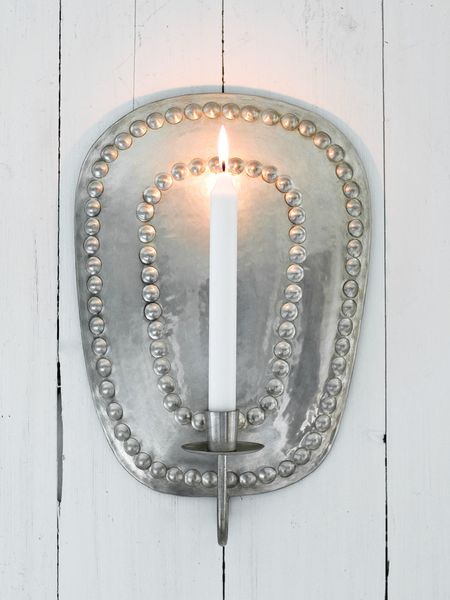 Metal Wall Sconce Silver Wall Sconce Wall Candle Holder Candle Wall S