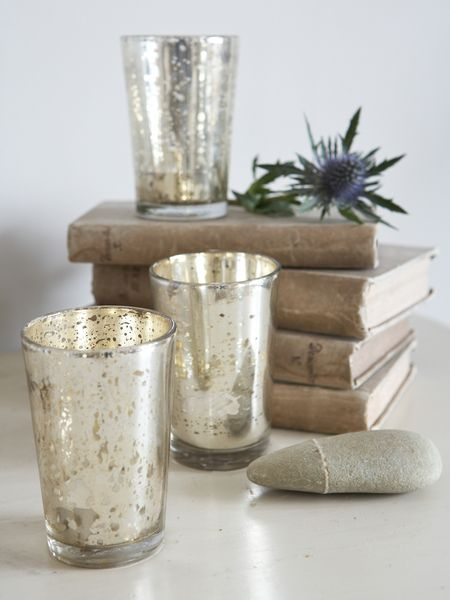 Where to find cheap Mercury Glass Votives