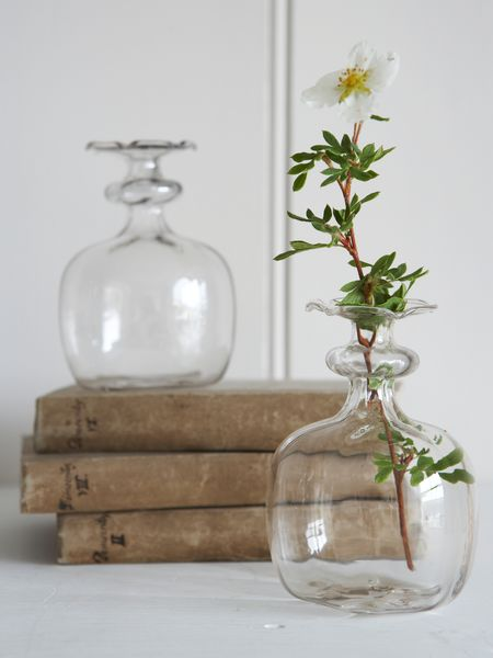 Small Tinted Glass Vase
