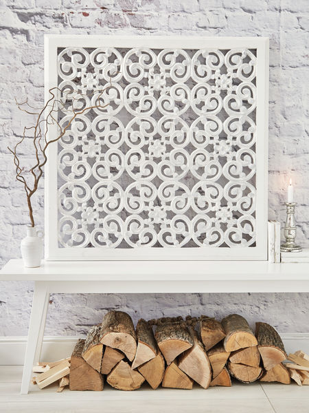 Large carved wall panel design wl nordic house