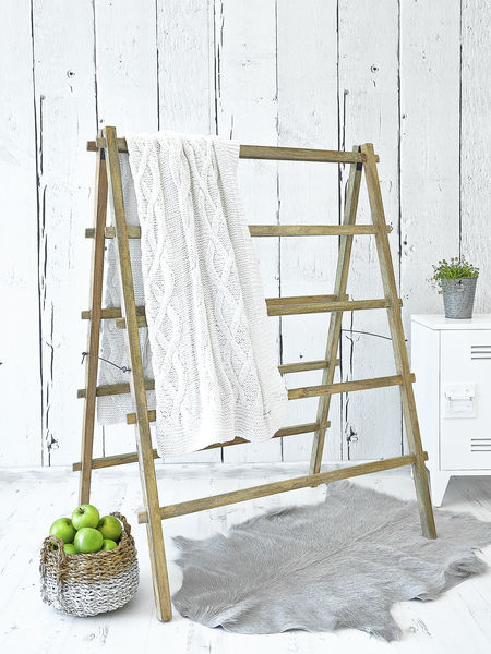 Large Vintage Drying Rack