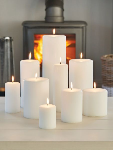 Uk Living Decor: Large Church Candles