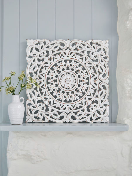 Carved Wall Panel Decorative Wooden Panels Nordic House