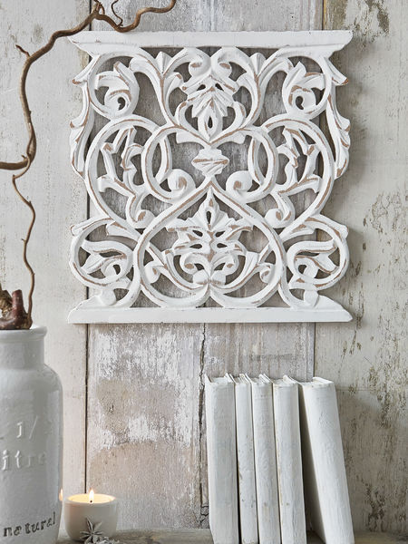 Carved wall panel sculptures nordic house