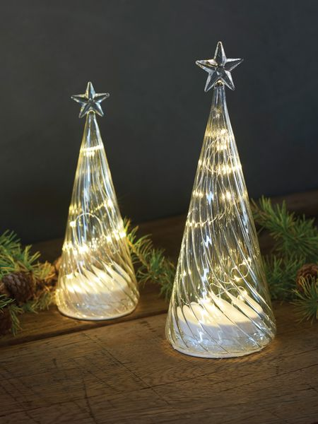 Glass Led Christmas Trees Led Xmas Tree Nordic House