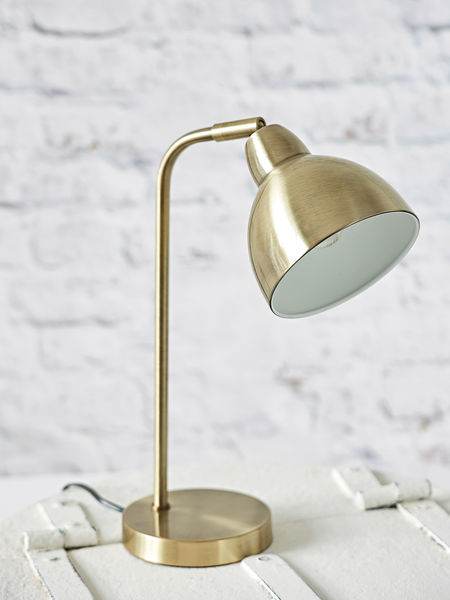 Brass Table Lamp Scandi Table Lamp Nordic House