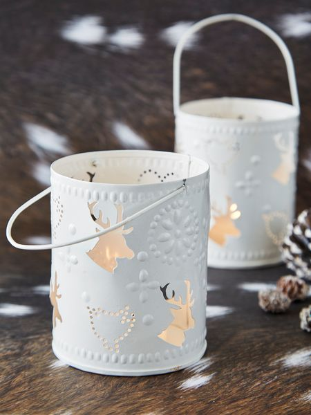 Reindeer Tealight Lanterns