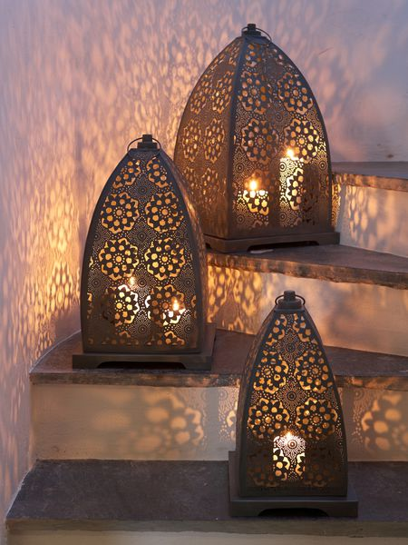 Antique Zinc Lanterns