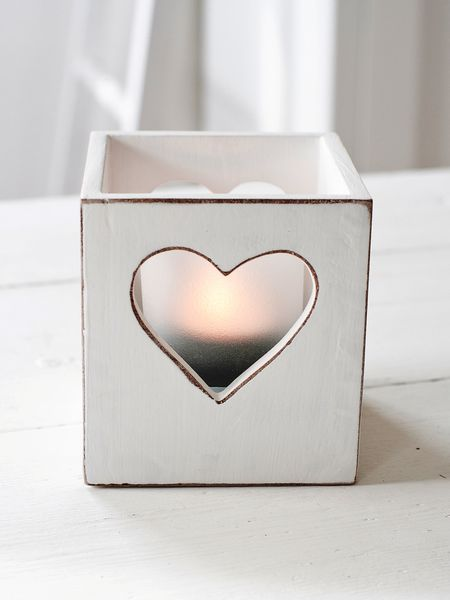 Heart Tealight Box