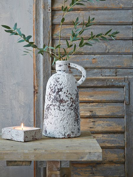 Aged Vase With Handle