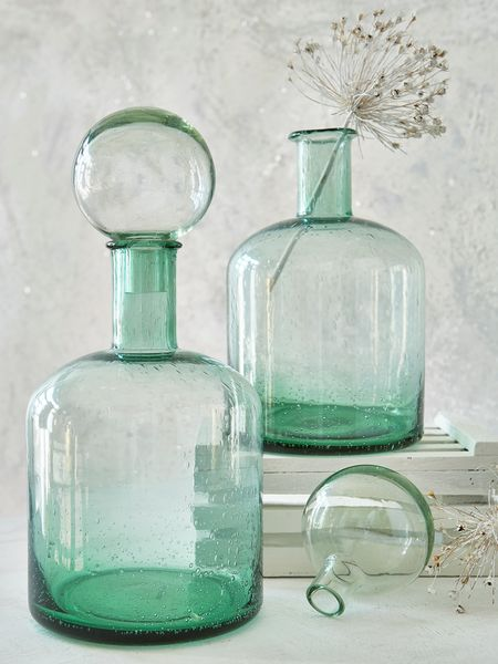Retro Glass Bottle Large Glass Bottles Nordic House