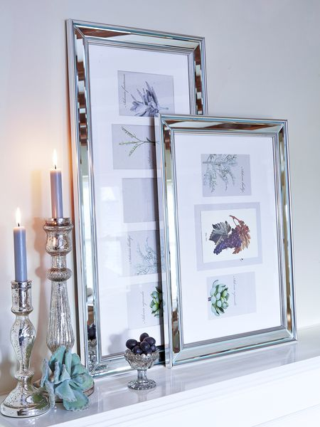 mirrored picture frames nordic house