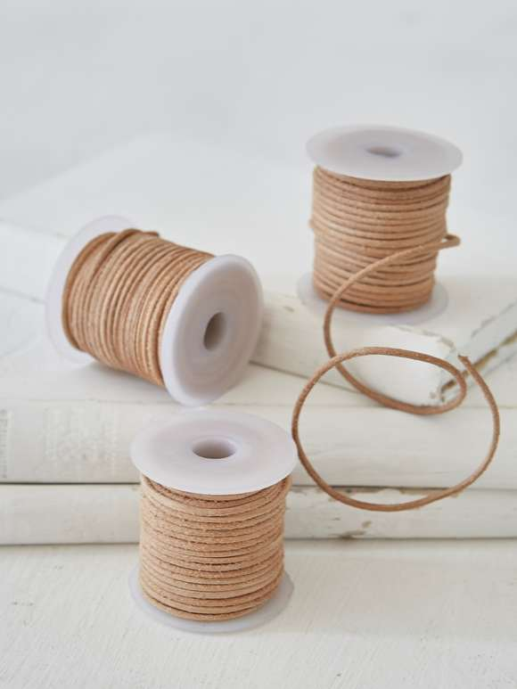 Leather String Bobbin - Mini