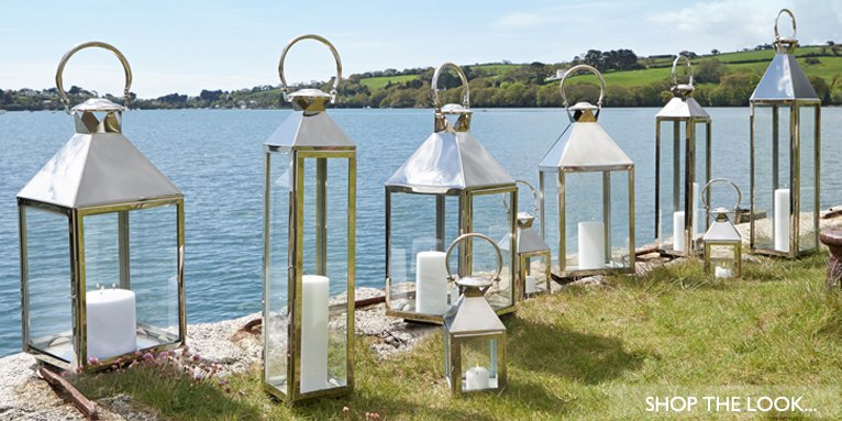 Indoor And Outdoor Candle Lanterns
