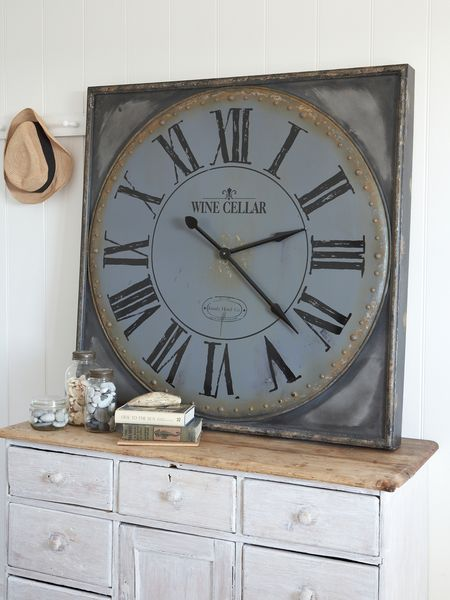 Huge Wine-Cellar Wall Clock