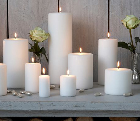 Top tips on candle displays