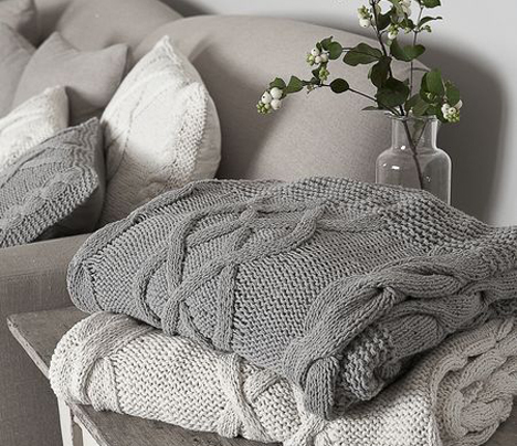 Cosy home accessories