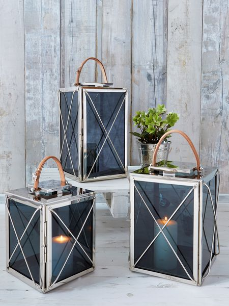 criss cross lanterns - nordic house