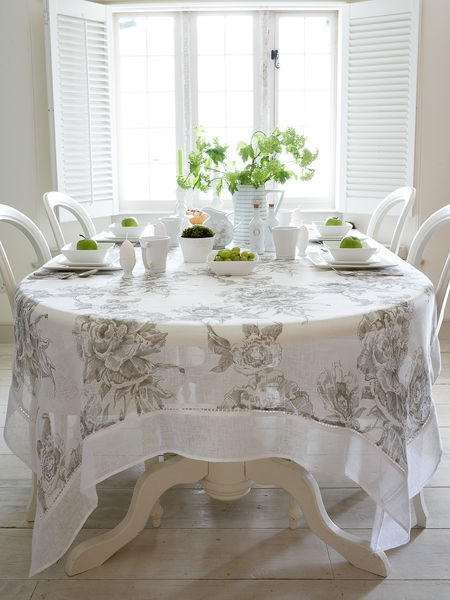 linen tablecloth - nordic house
