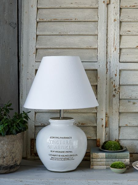 retro table lamp - nordic house