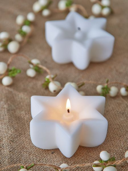 Nordic star candle - nordic house
