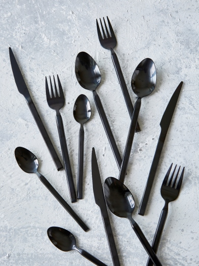 black cutlery - nordic house