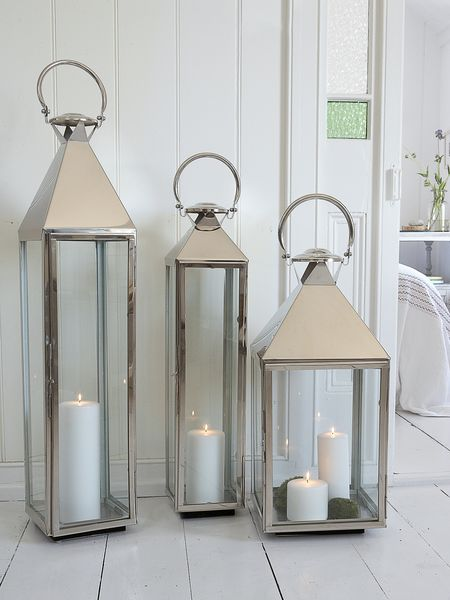stainless steel lanterns - nordic house
