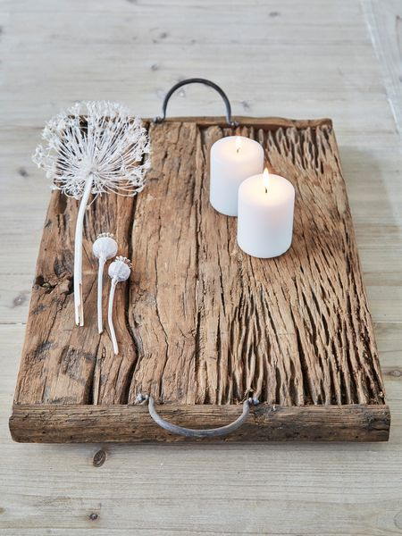 reclaimed wood tray - nordic house
