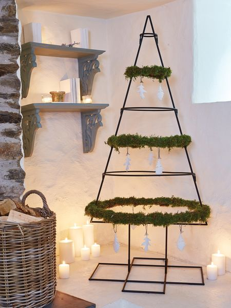 wrought iron christmas tree - nordic house