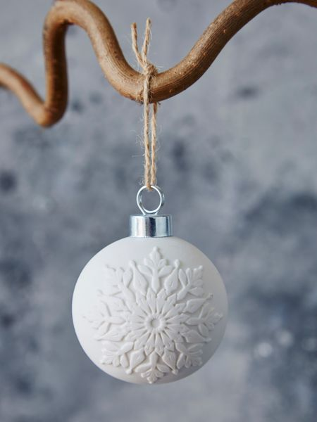 porcelain bauble - nordic house