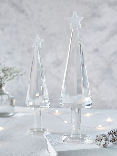 glass christmas tree - nordic house