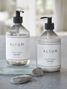 Nordic hand soap and hand lotion with 100% natural ingredients
