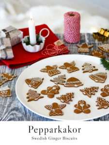 Pepparkakor recipe - Swedish ginger biscuits