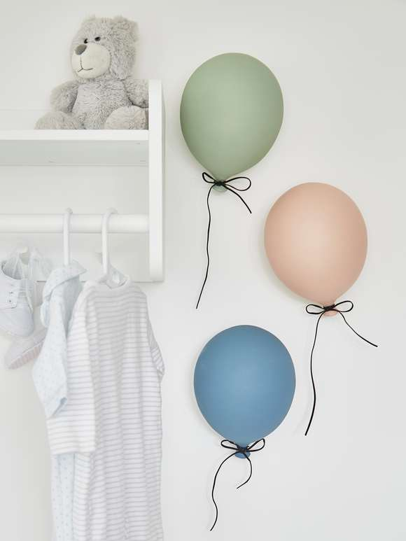 Coloured Wall Balloons