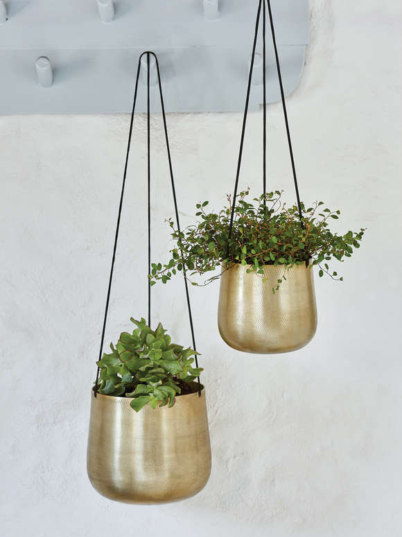 Curved Hanging Planters