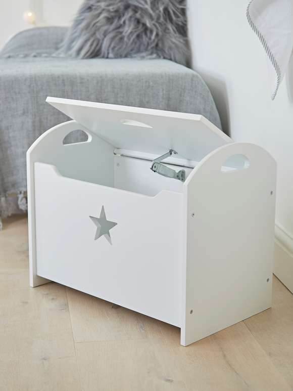 Star Toy Chest - White
