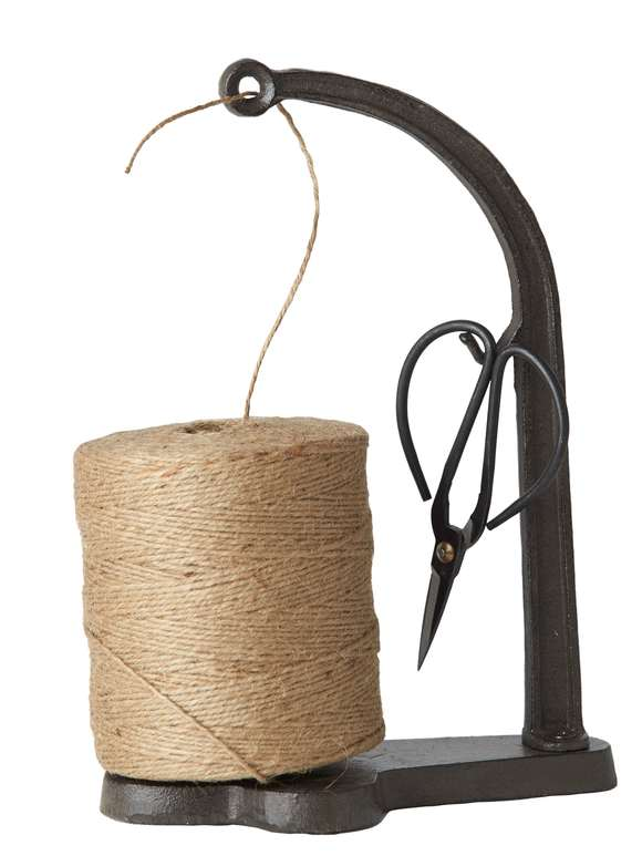Wrought Iron Jute String Set - L