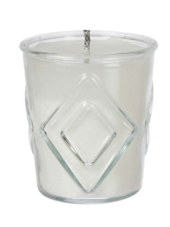 Glass Outdoor Candle - Diamond