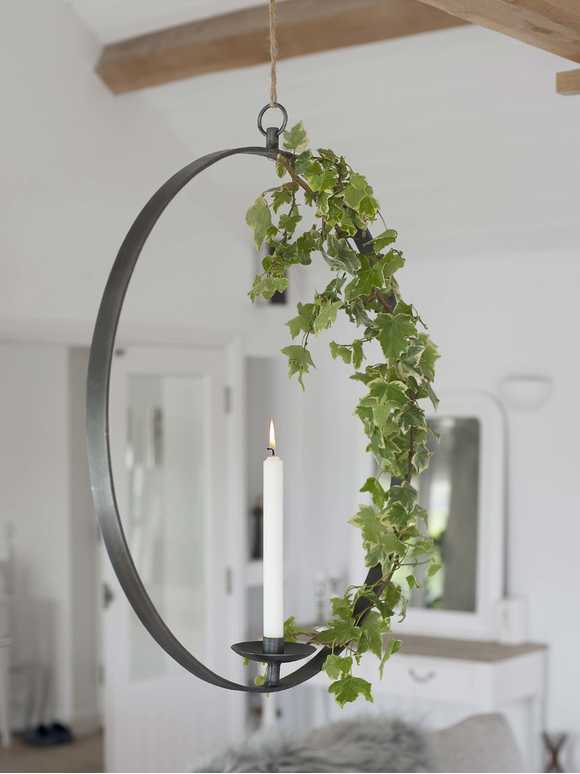 XL Hanging Candle Holder