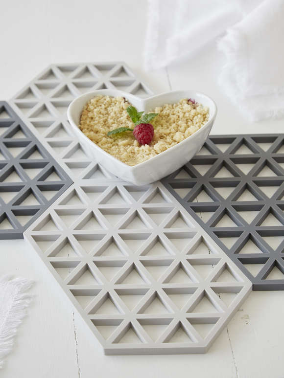 Dark Grey Silicone Trivet
