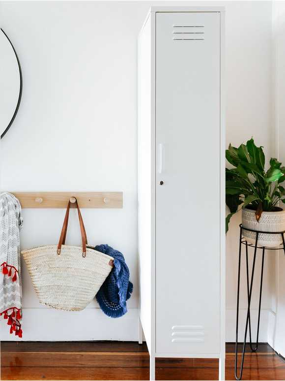 Tall Loft Style Locker - White