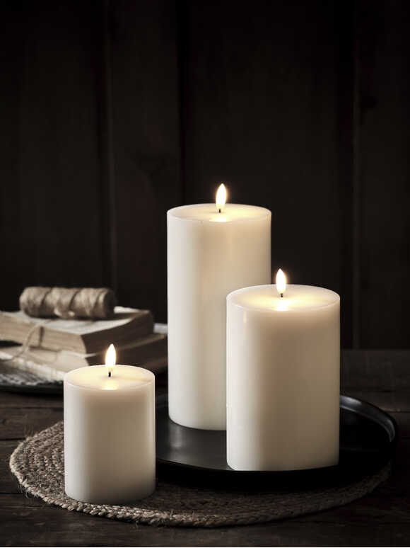 Exquisite White LED Candles