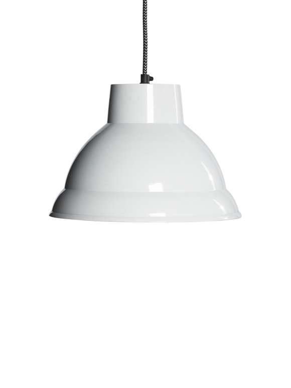 Metal Pendant Lamp - White