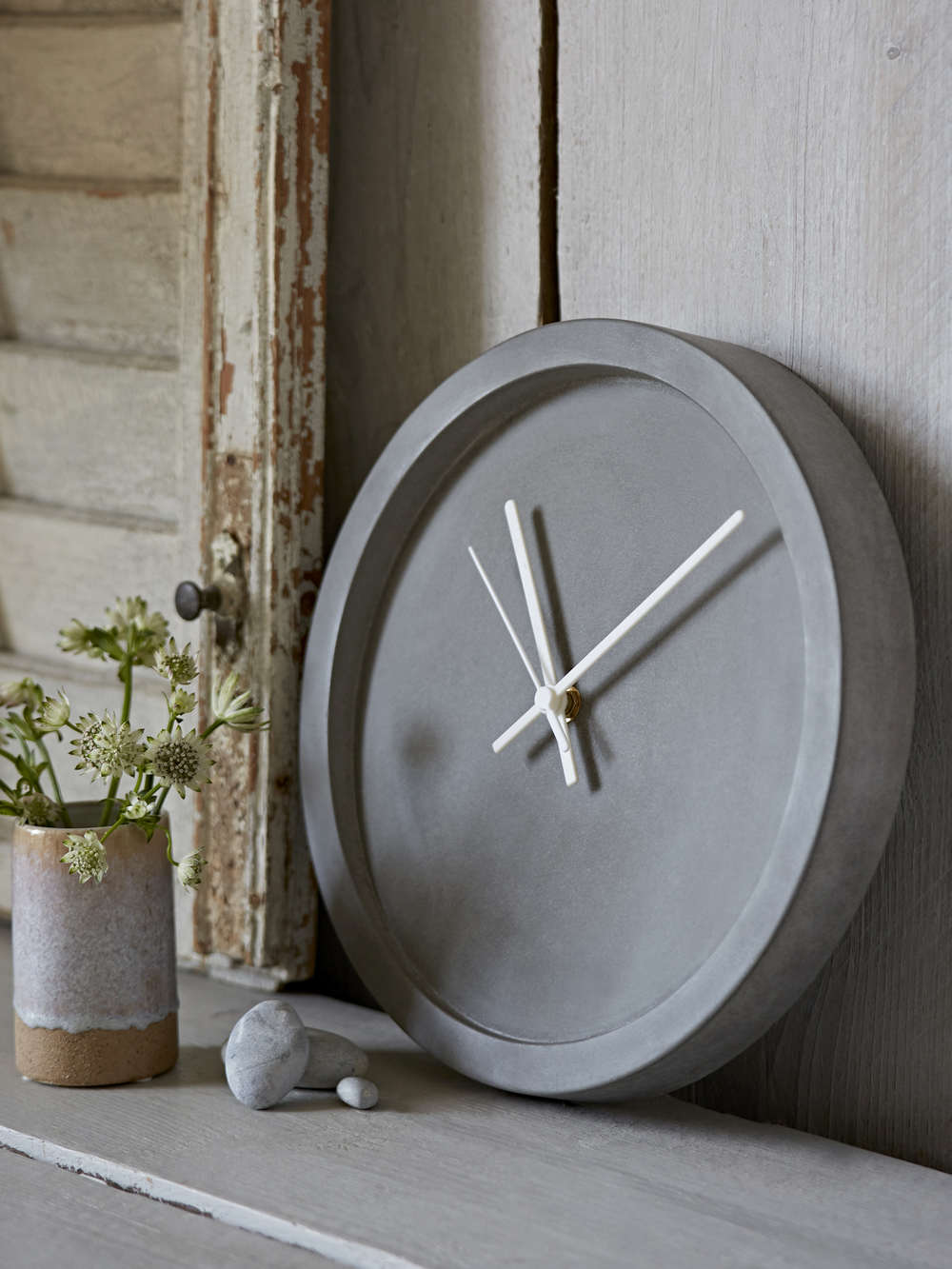 Concrete Clock Concrete Wall Clock Cement Clock
