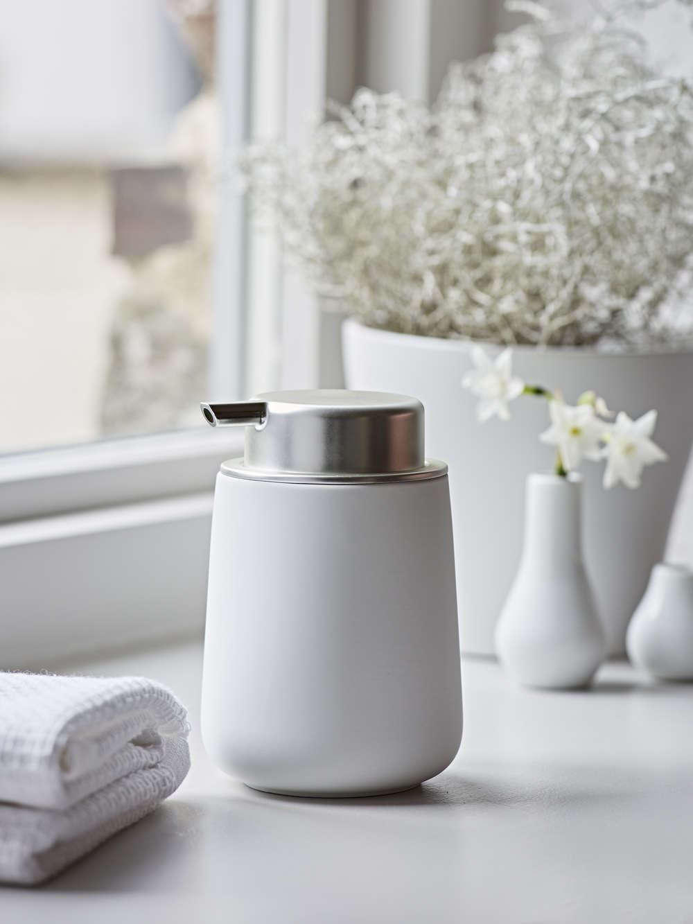 White Soap Dispenser Scandi Soap Dispenser Nordic House
